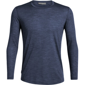 Icebreaker Sphere LS Crewe Shirt Herre midnight navy heather